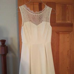 Francesca's Boutique white dress